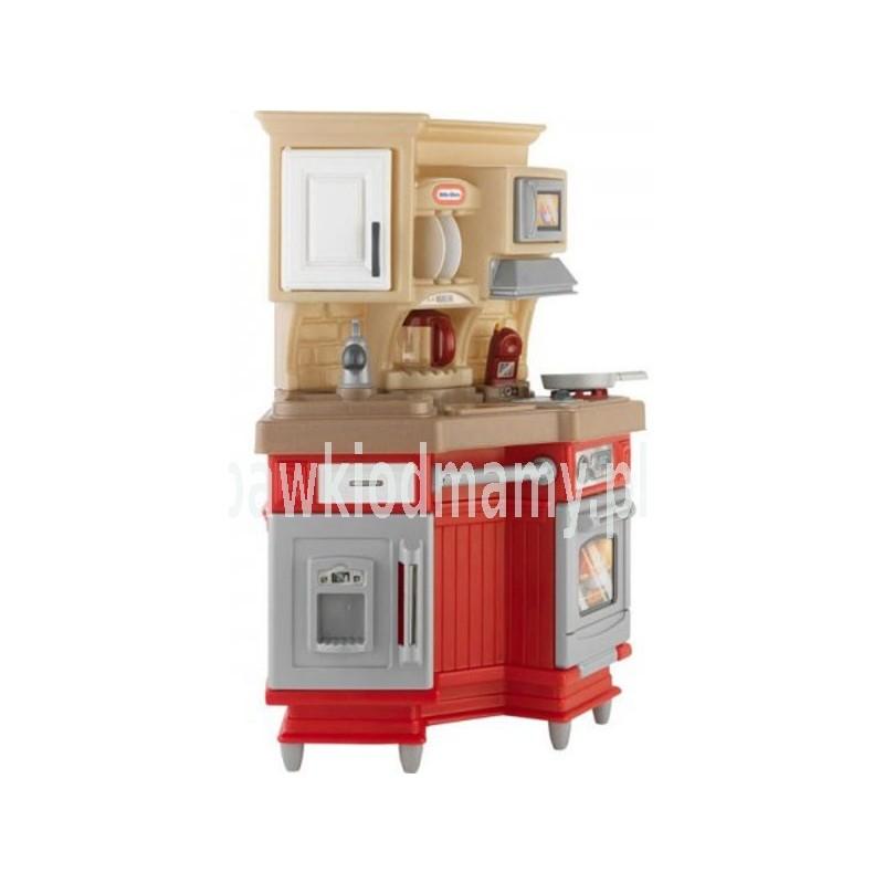 LT Kuchnia Super Kucharza Czerwona -> Kuchnia Little Tikes Czerwona